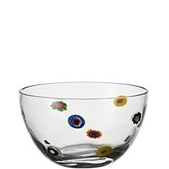 Leonardo - Small glass 'Millefiori' bowl