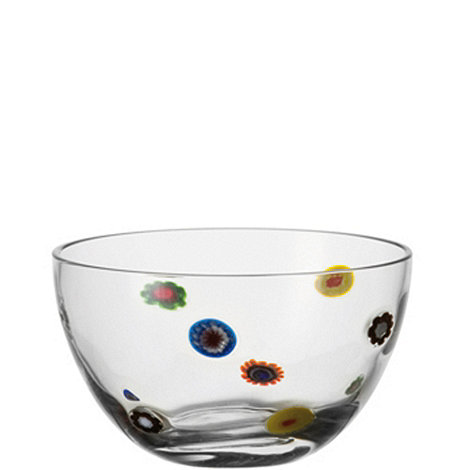 Leonardo - Small glass +Millefiori+ bowl