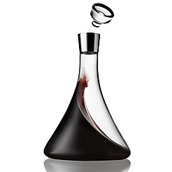 Menu - Glass wine decanter