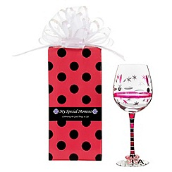 Momo Panache - 'Diva' wine glass