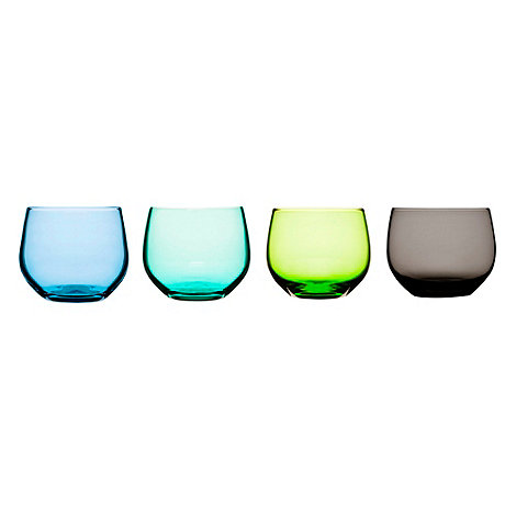 Sagaform - Set of four glass tumblers