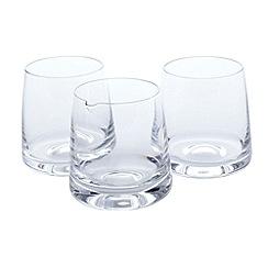 Dartington - Crystal whiskey gift set of two tumblers and mini water jug
