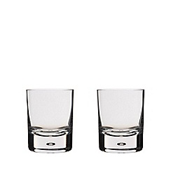 Dartington - Pair of 'Exmoor' crystal tumblers