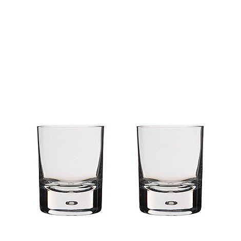 Dartington - Set of 2 crystal +Exmoor+ tumblers