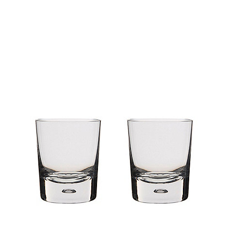 Dartington - Pair of +Exmoor+ crystal tumblers