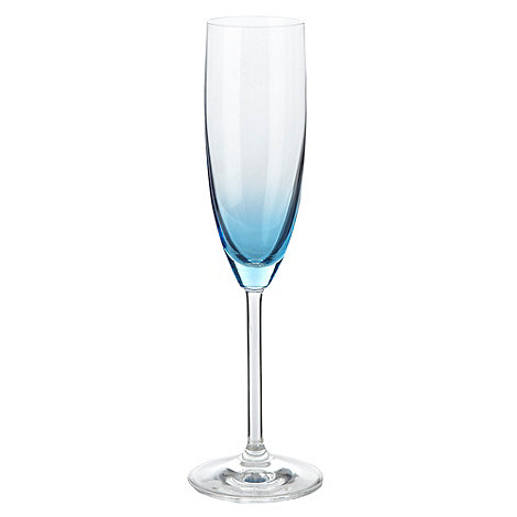 Leonardo - Blue +Dream+ champagne flute
