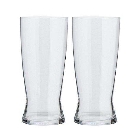 Spiegelau - Set of two non-lead crystal lager glasses