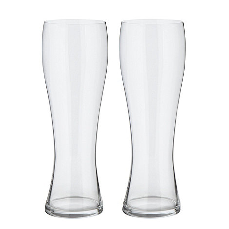 Spiegelau - Set of two non-lead crystal wheat beer glasses
