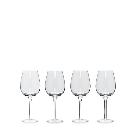 Denby - Set of four +Alfresco+ wine glasses