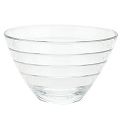 Vidivi Glass made in italy - Baguette' ridged bowl