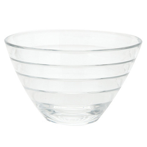 Vidivi Glass made in italy - Baguette+ ridged bowl