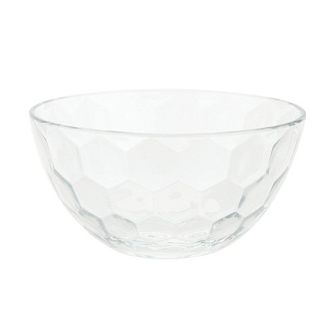 Vidivi Glass made in italy - Honey+ 13.5cm honeycomb bowl
