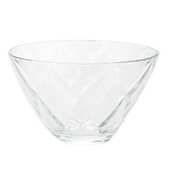 Vidivi Glass made in italy - Concerto' 14cm diamond bowl