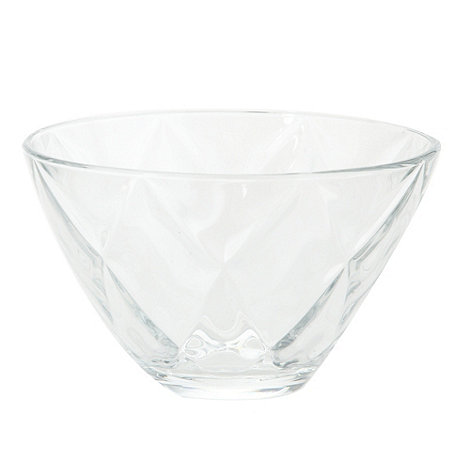 Vidivi Glass made in italy - Concerto+ 14cm diamond bowl