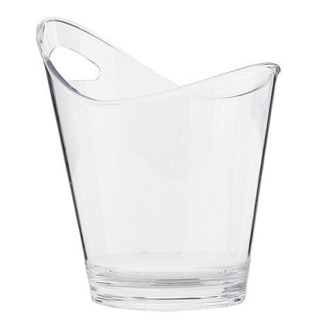 Barcraft - Plastic twin bottle ice bucket