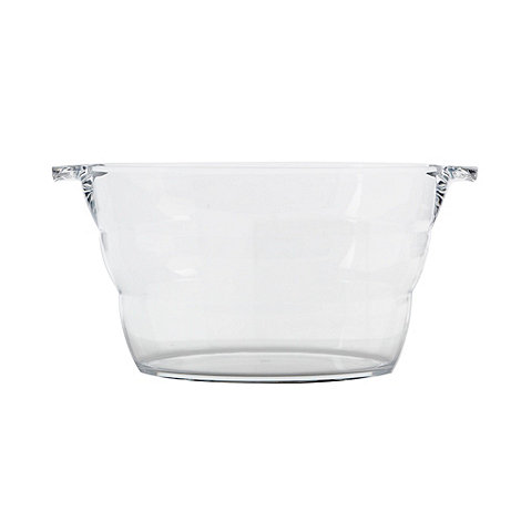 Barcraft - Large oval acrylic drinks cooler