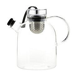 Menu - Glass teapot with tea infuser
