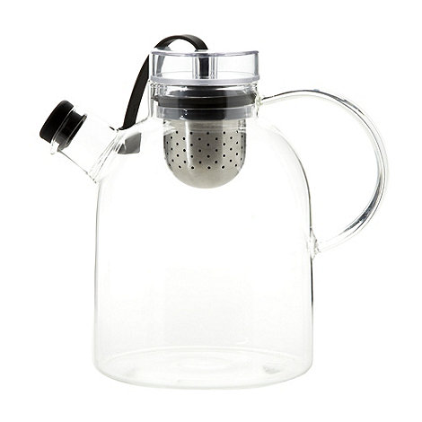 Menu - Glass teapot with tea infuser
