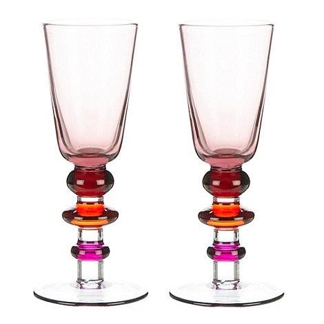 Sagaform - Set of two pink +Spectra+ shot glasses