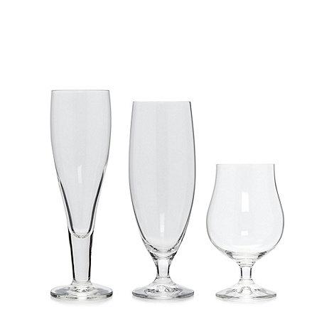 Dartington - Set of three beer glasses