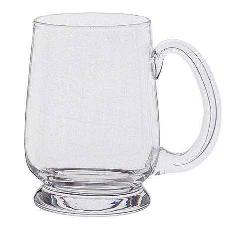 Dartington - Glass +Barley Corn+ half pint tankard