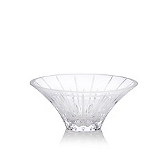 Marquis by Waterford - Large crystal 'Sheridan' flared bowl