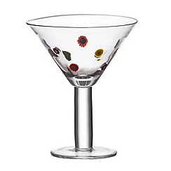Leonardo - Millefiori cocktail glass
