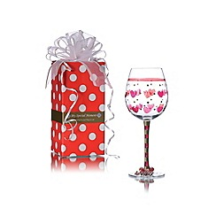 Momo Panache - Panache 'I Love You' wine glass