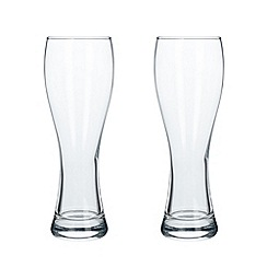 Leonardo - Set of two 0.5l beer glasses