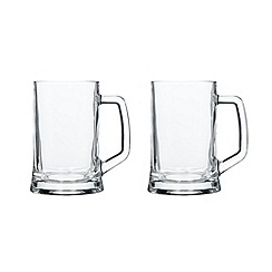 Leonardo - Set of two 0.5l tankards