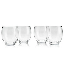 Denby - Set of four 'Afresco' small tumbler glasses