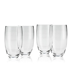 Denby - Set of four 'Afresco' large tumbler glasses