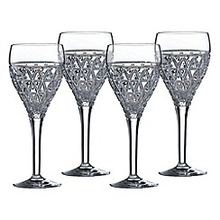 Royal Doulton - Oblique Goblet 4pce Set