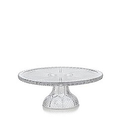 Debenhams - Glass round cake stand