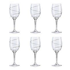 Star by Julien Macdonald - Swirl wine glass