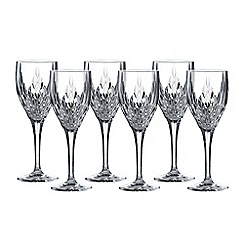 Royal Doulton - Retro set of 6 wine glasses