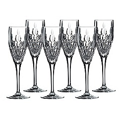 Royal Doulton - Retro set of 6 champagne flutes