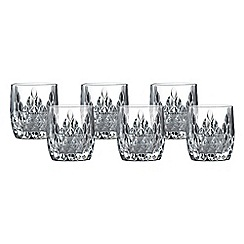 Royal Doulton - Retro set of 6 tumbler glasses