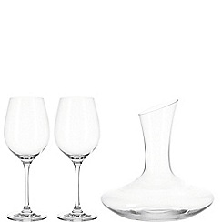 Leonardo - Decanter set with 2 red wine glasses