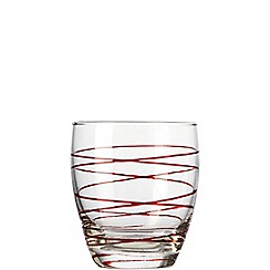 Leonardo - Swirl tumbler box of 6 glasses