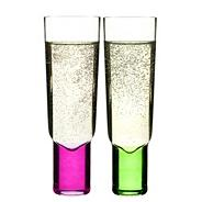 Set of two 'Club' champagne glasses