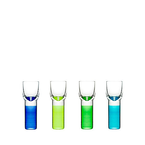 Sagaform - Set of four +Club+ shot glasses