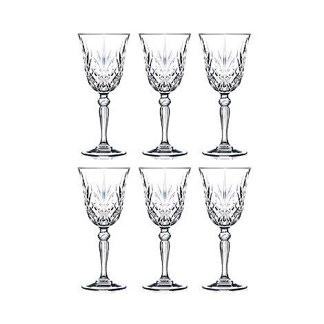 Royal Crystal Rock - Crystal +Melodia+ wine glasses