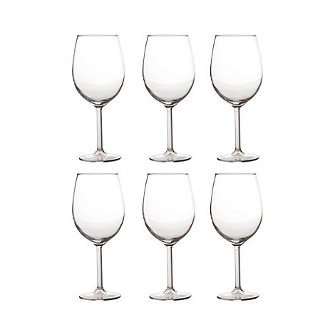Maxwell & Williams - Set of six +Cuvee+ wine glasses