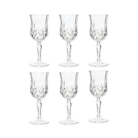 Royal Crystal Rock - Set of six crystal +Opera+ wine glasses