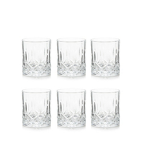 Royal Crystal Rock - Set of six crystal +Opera+ whisky tumblers