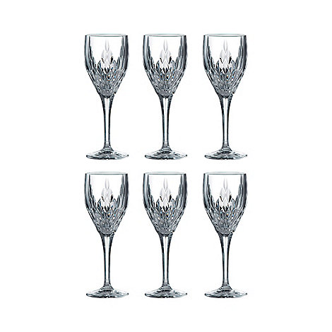 Royal Doulton - Set of six +Retro+ wine glasses