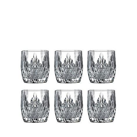 Royal Doulton - Set of six +Retro+ glass tumblers