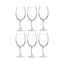 Maxwell & Williams - Set of six 'Cuvee' small wine glasses
