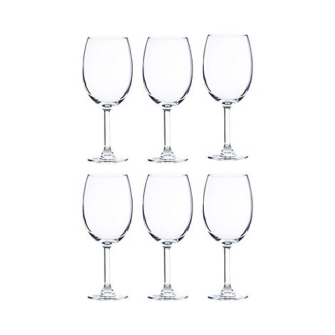 Maxwell & Williams - Set of six +Cuvee+ small wine glasses